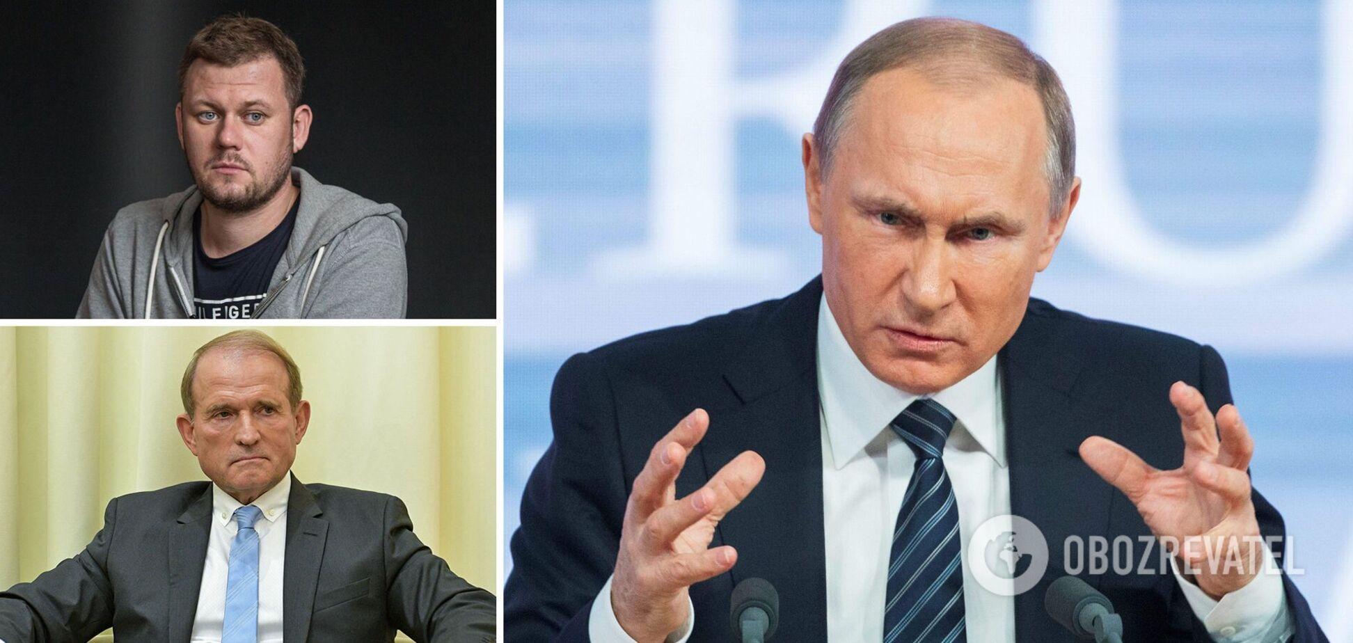 Казанський: Путін мстить Україні за Медведчука і буде кидати в бій 'дешеве гарматне м'ясо'