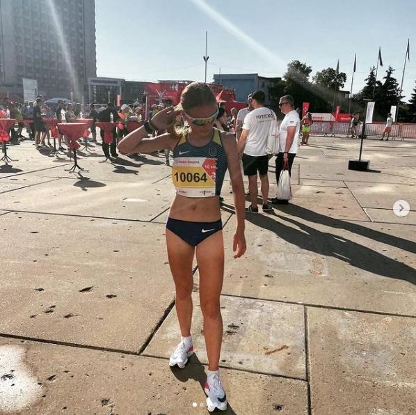 Останнє фото Каті на марафоні в Сумах