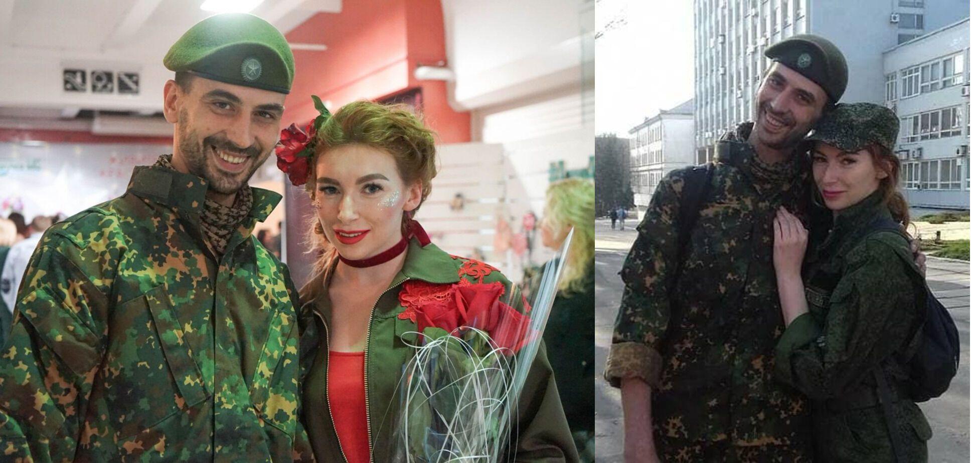 """Катіна з коханим – снайпером Андрієм """"Скрипалем"""""""
