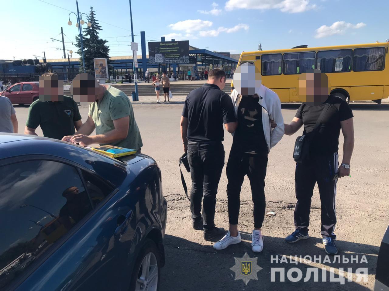У Львові затримали хлопця, який напав на таксиста в Наварії. Фото: поліція Львівщини