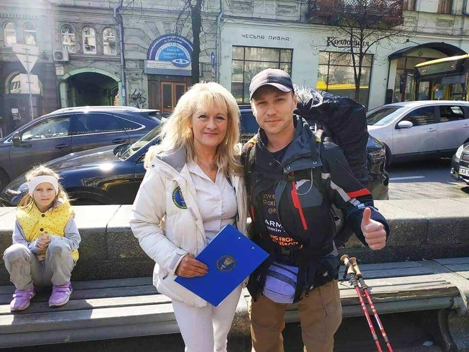 Валентин Черненко і Лана Вєтрова.
