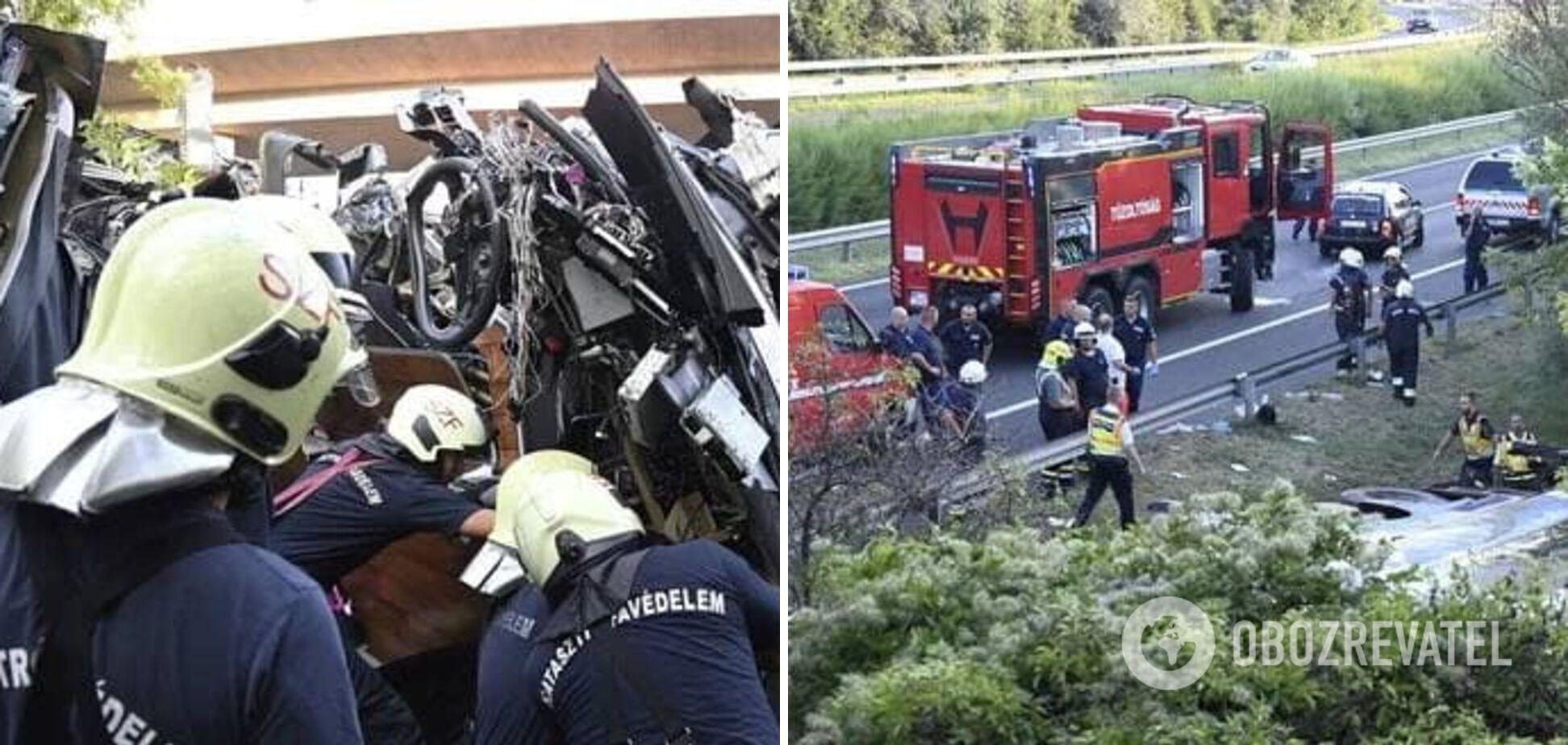 На місці аварії працювали рятувальники.