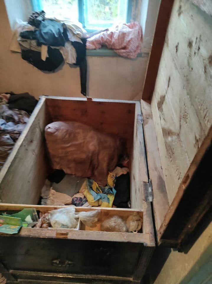 Скриня, в якій загинули діти