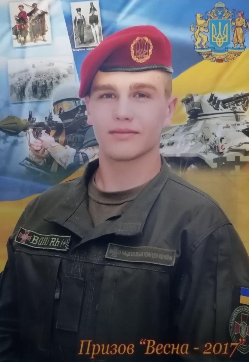 Дмитро Никифоренко під час служби.