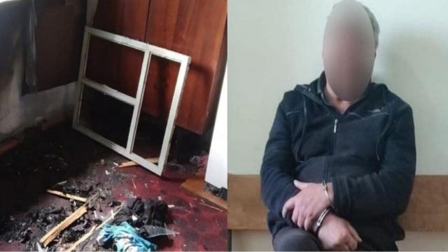 Спалив живцем із люті: на Миколаївщині чоловік розправився з тещею